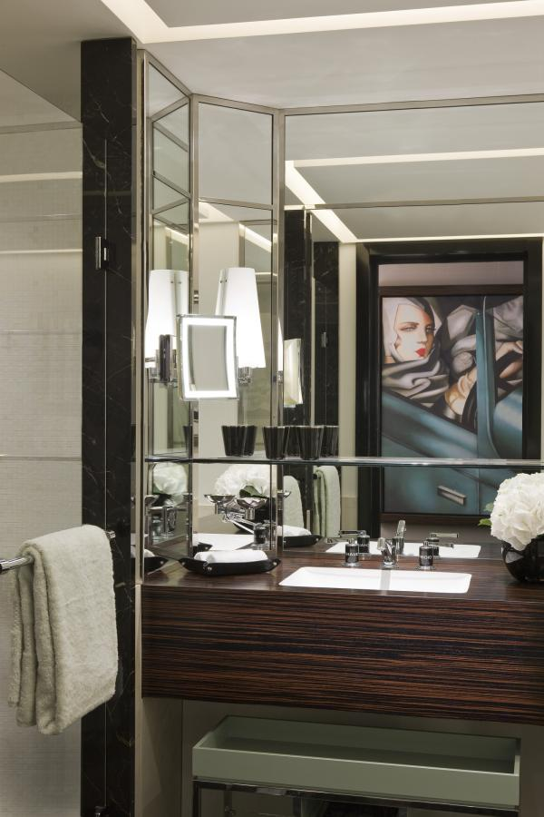 Images of designer bathrooms - Mle Prince Del Galles Paris